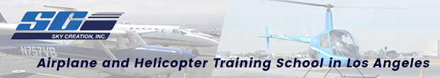 Airplane and Helicopter Training School in Los Angeles